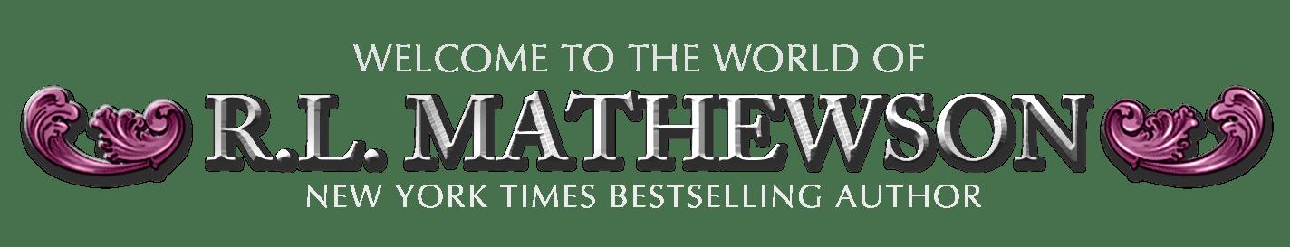 logo for RL Mathewson New York Times Bestselling Author